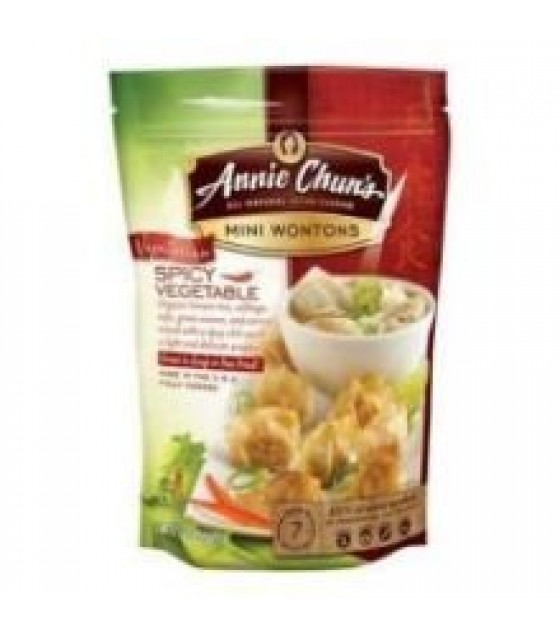 [Annie Chun`S] Mini Wontons Spicy Vegetable