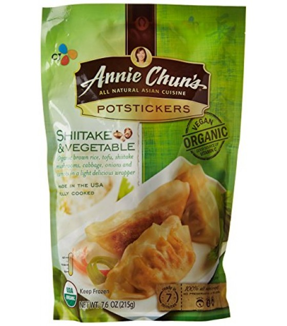 [Annie Chun`S] Potstickers Shitake & Vegetable  At least 95% Organic