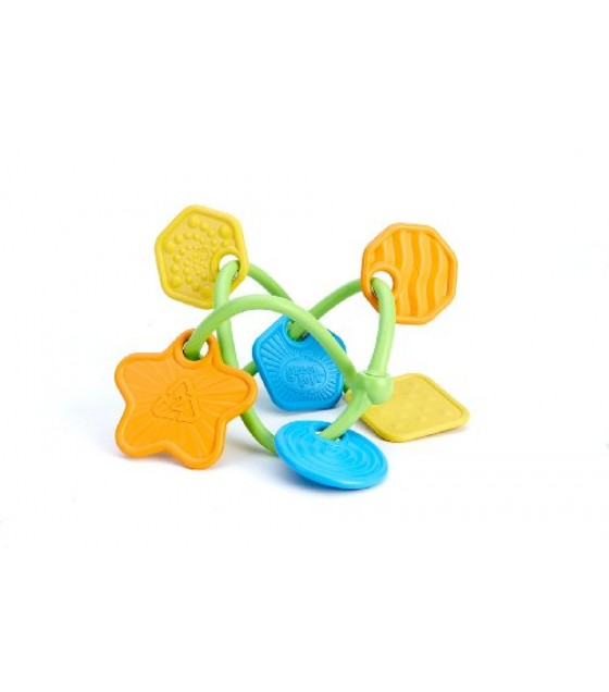 [green Toys] Twist Teether