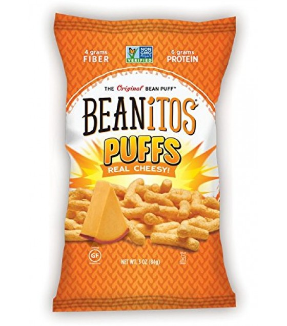 [Beanitos] Puffs Real Cheasy