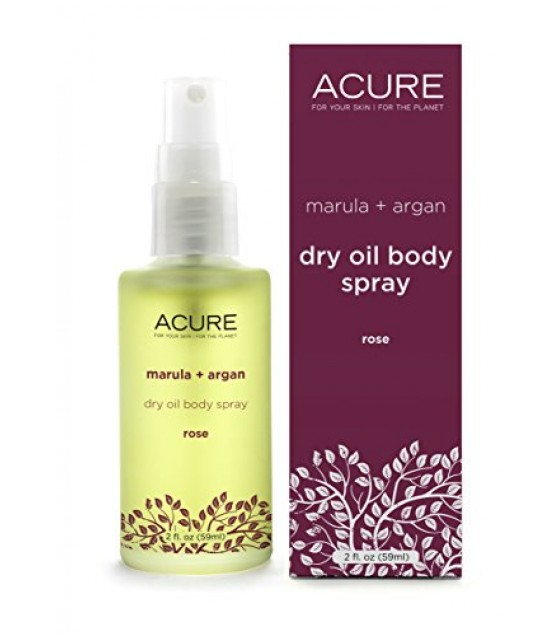 [acure] Dry Oil,bdy Spray,rose