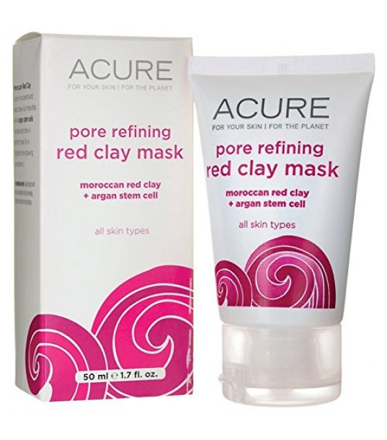 [acure] Mask,facial,red Clay
