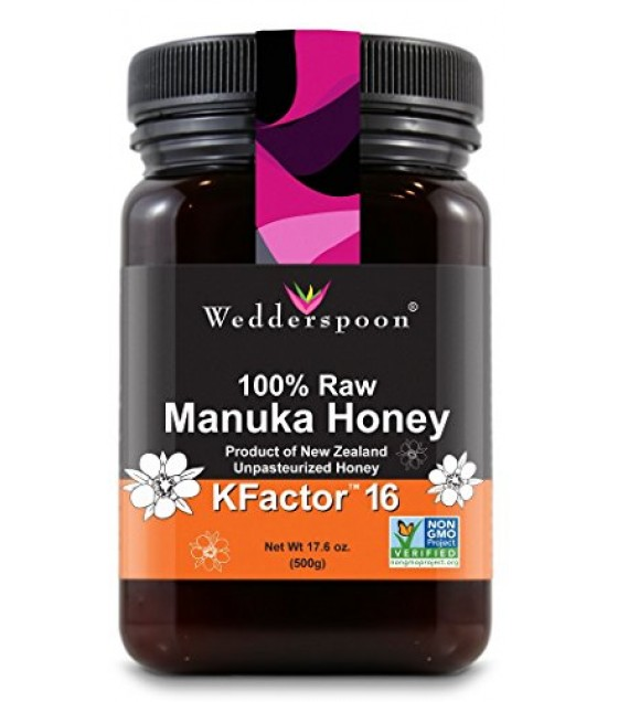 [wedderspoon] Manuka Honey,100%raw,kf16