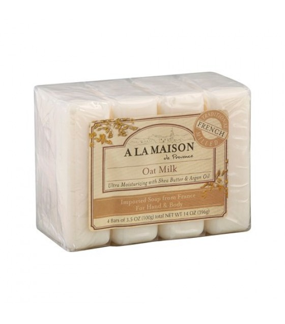 [A La Maison] BAR SOAP,VALUE PK,OAT MLK