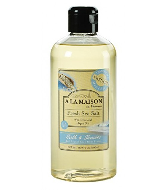 [a La Maison] Shower Gel,fresh Sea Salt