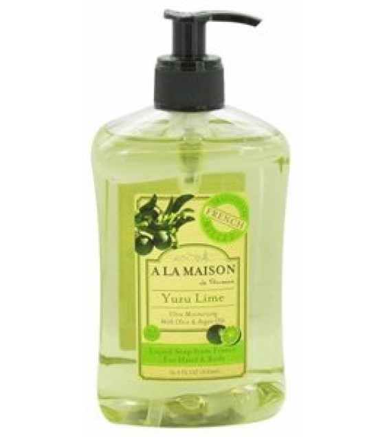 [A La Maison] FRENCH LIQ SOAP,YUZU LIME