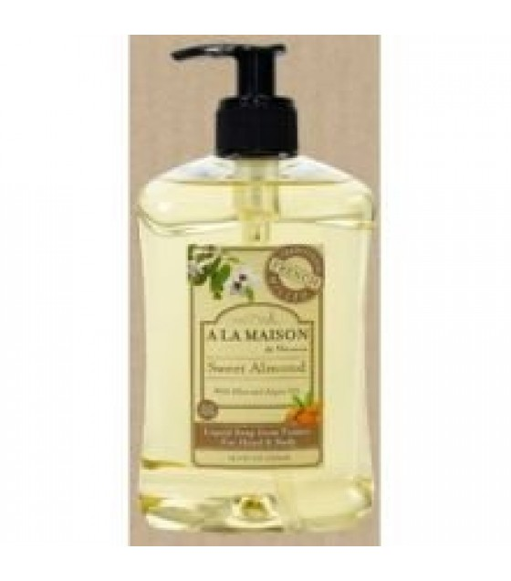 [a La Maison] French Liquid Soap; Sweet Almond