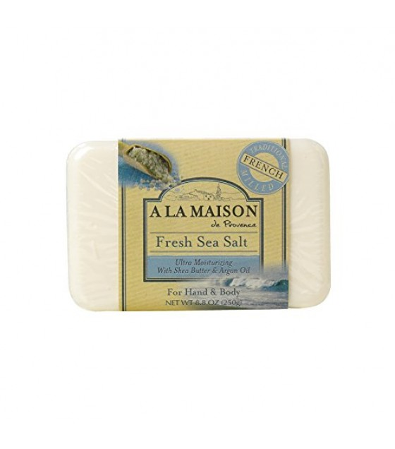 [A La Maison] French Solid Bar Soap Fresh Sea Salt