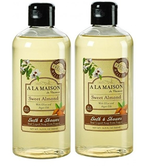 [a La Maison] Shower Gel,sweet Almond