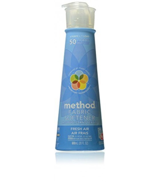 [Method] Laundry Products Softener, Fresh Air, 50 Load