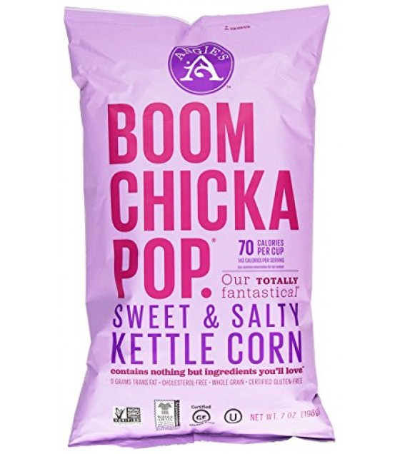 [Angie`S] Boomchickapop Kettlecorn, Sweet & Salty, 70 Cal