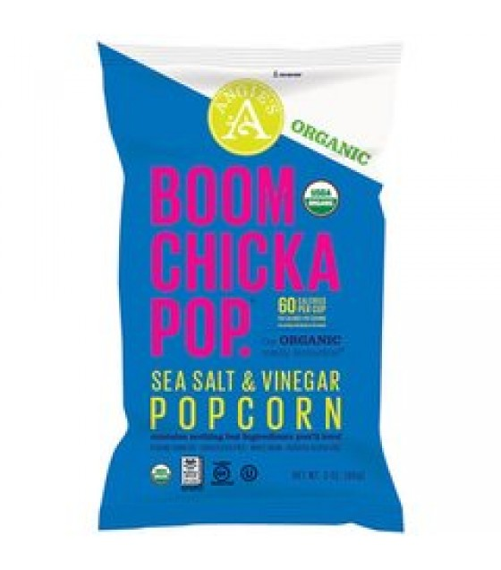 [Angie`S] Boomchickapop Sea Salt & Vinegar  At least 95% Organic