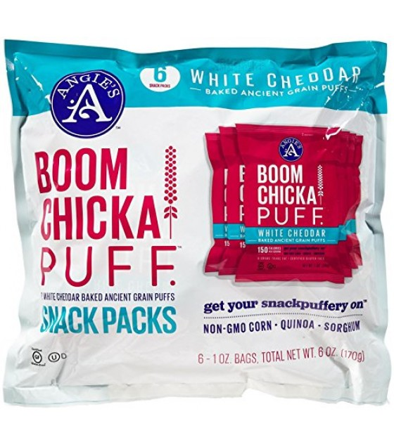 [Angie`S] Boomchickapuff White Cheddar