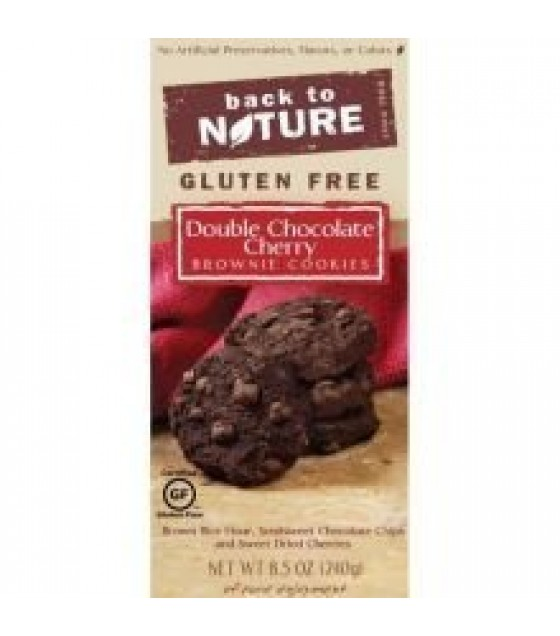[Back To Nature] Cookies GF Dbl Choc Cherry Brownie