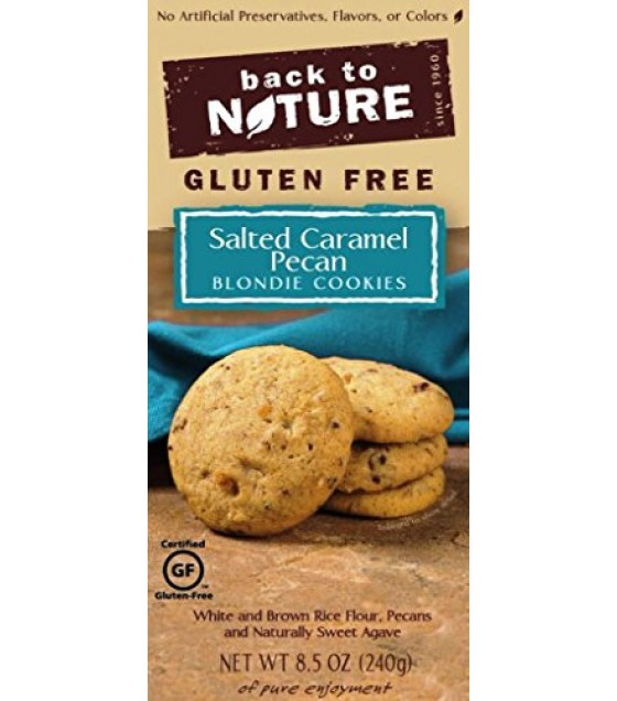 [Back To Nature] Cookies GF Salted Caramel Pecan Blondie