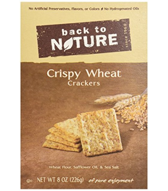 [Back To Nature] Crackers Crispy Wheats