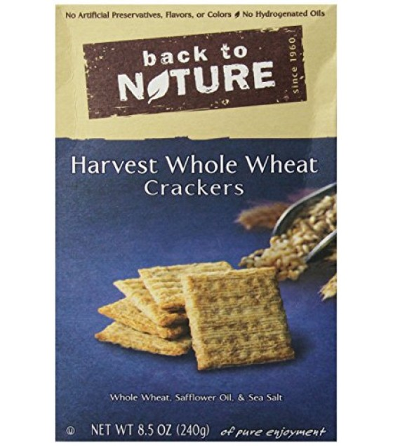 [Back To Nature] Crackers Harvest Whole Wheat