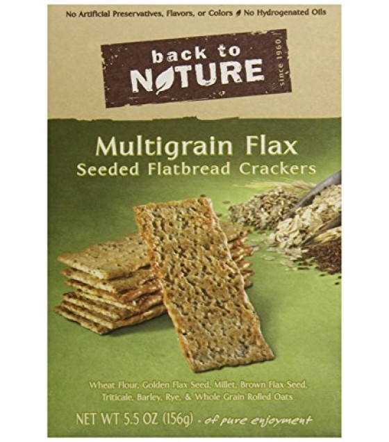 [Back To Nature] Flatbread Multigrain Flax Seed
