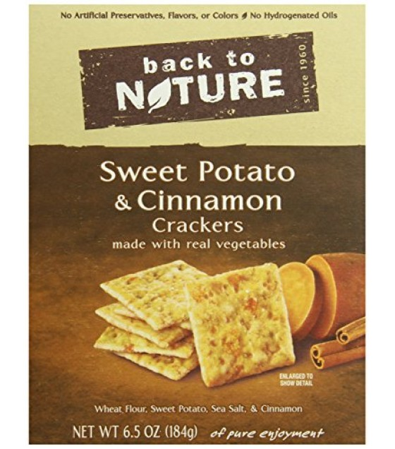 [Back To Nature] Crackers Sweet Potato & Cinnamon
