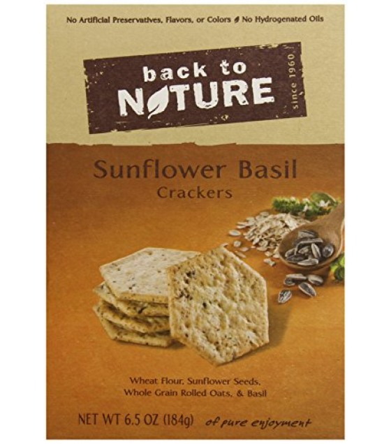 [Back To Nature] Crackers Sunflower & Basil