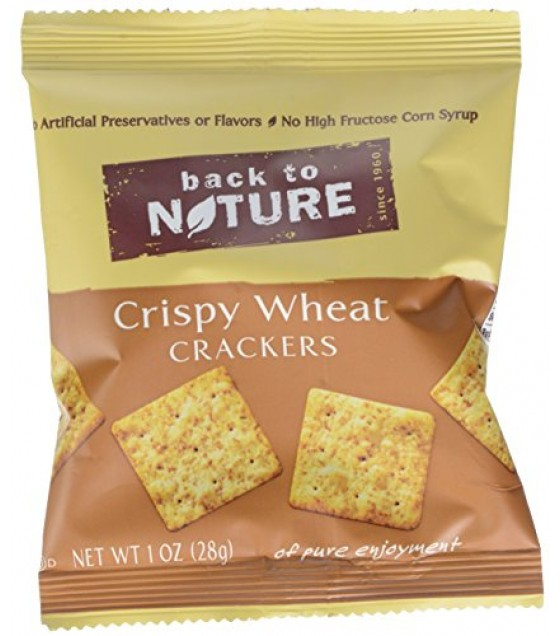 [Back To Nature] Crackers Crispy Wheats Single Serve