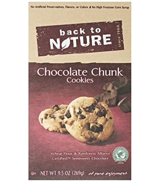 [Back To Nature] Cookies Chocolate Chunk