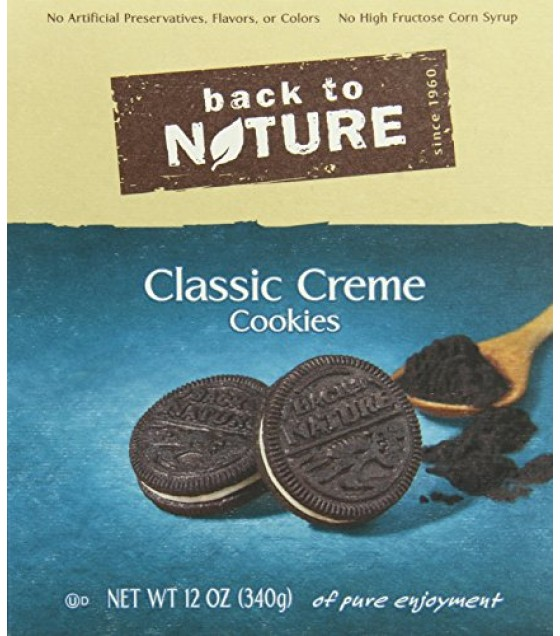 [Back To Nature] Cookies Classic Creme Sandwich