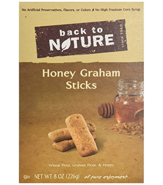 [Back To Nature] Cookies Honey Graham Sticks