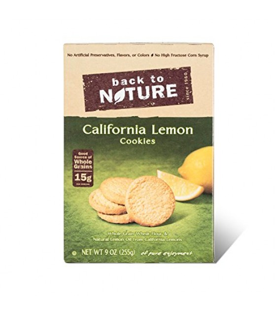 [Back To Nature] Cookies California Lemon
