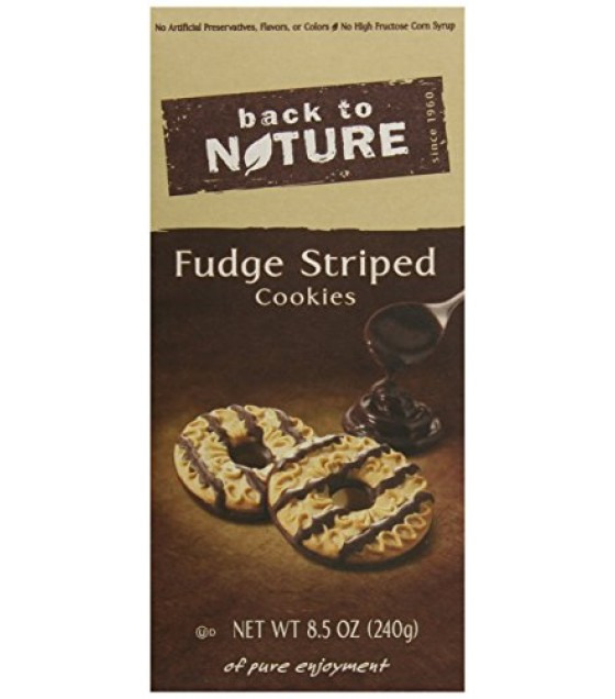 [Back To Nature] Cookies Fudge Striped Shortbread