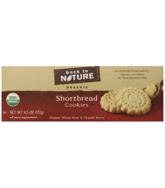 [Back To Nature] Cookies Shortbread  At least 95% Organic