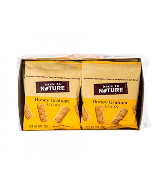 [Back To Nature] Cookies Honey Grahams Single Serve