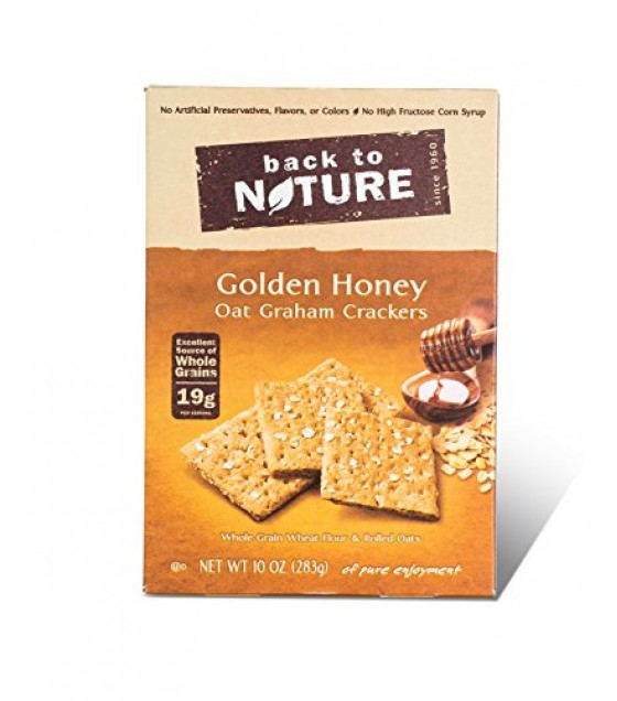 [Back To Nature] Crackers Honey Graham Sticks