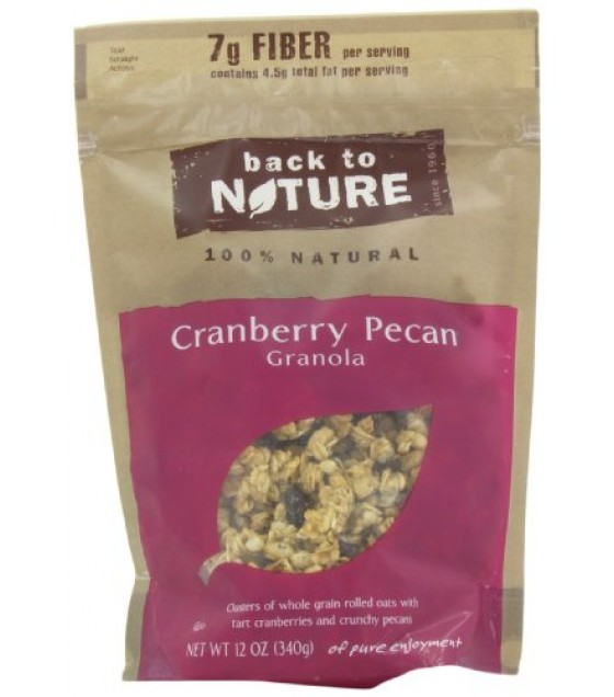 [Back To Nature] Granola Cranberry Pecan