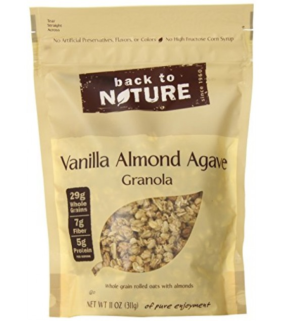 [Back To Nature] Granola Vanilla Almond Agave
