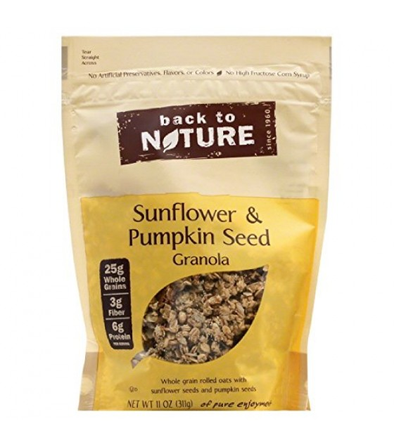 [Back To Nature] Granola, No Added Fat Sunflower & Pumpkin Seed