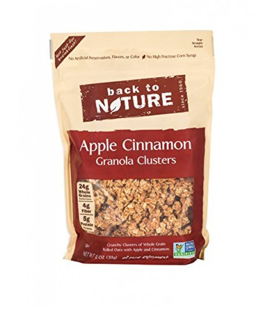 [Back To Nature] Granola Clusters Apple Cinnamon