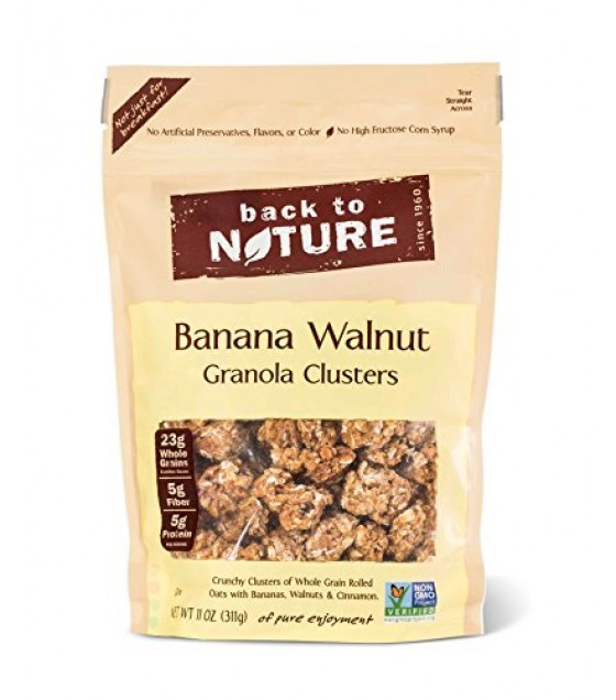 [Back To Nature] Granola Clusters Banana Walnut