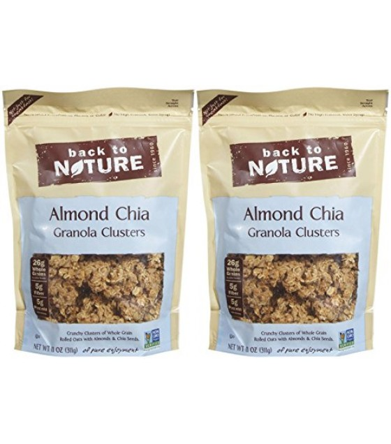 [Back To Nature] Granola Clusters Almond Chia