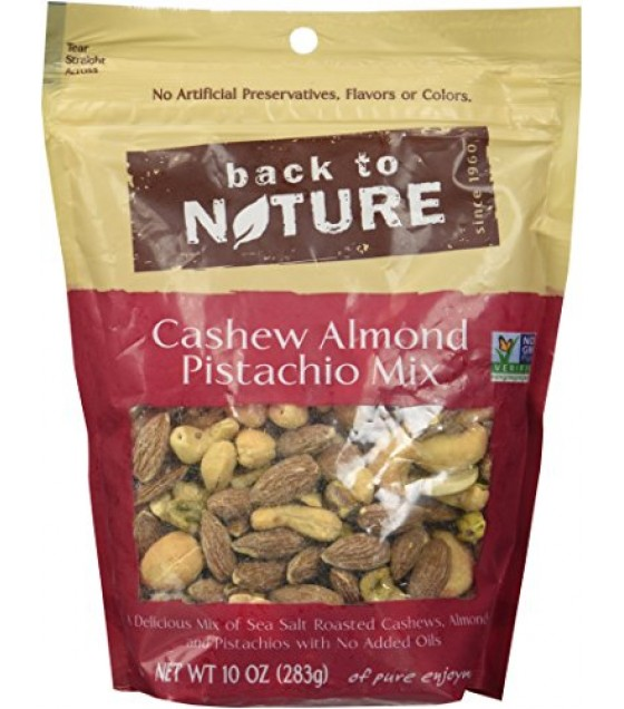 [Back To Nature] Snack Blends Cashew Pistachio Almond Mix