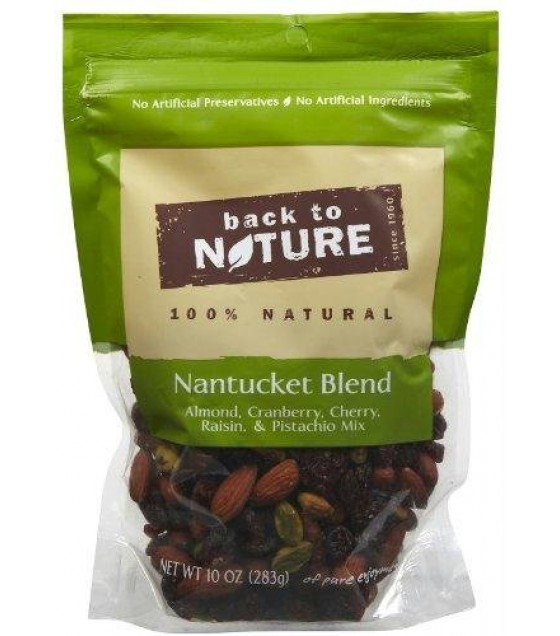 [Back To Nature] Snack Blends Nuts, Nantucket Blend