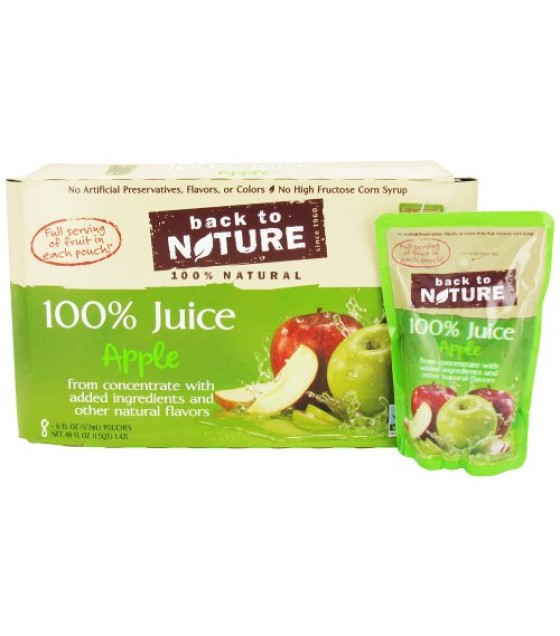 [Back To Nature] 100% Juice Apple