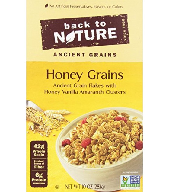 [Back To Nature] Cereal Honey Grains