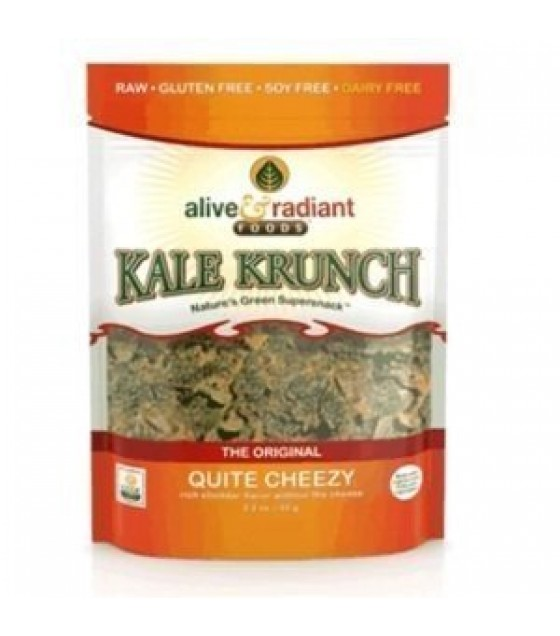 [Alive & Radiant Foods] Kale Krunch Quite Cheezy