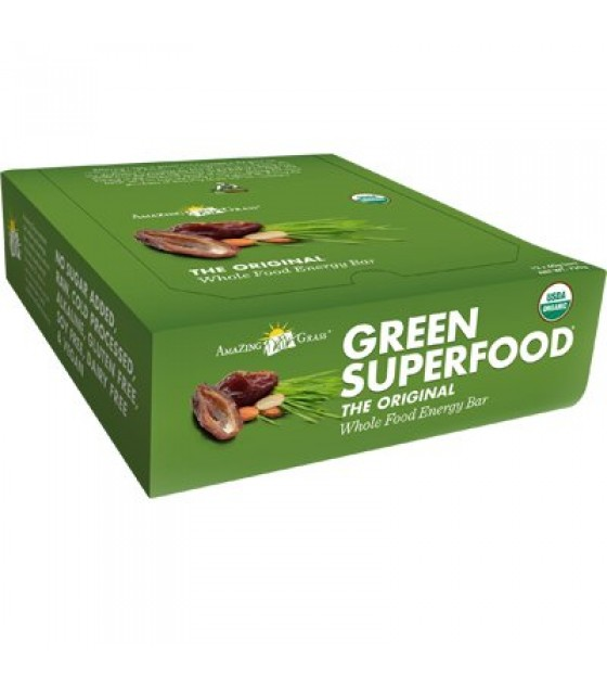 [Amazing Grass] Green Superfood Original  At least 95% Organic