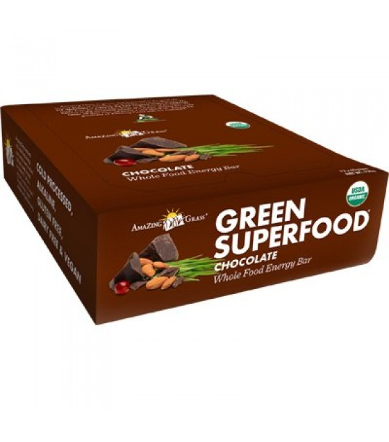 [Amazing Grass] Green Superfood Chocolate  At least 95% Organic