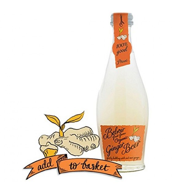 [Belvoir Fruit Farms]  Ginger Beer  At least 95% Organic