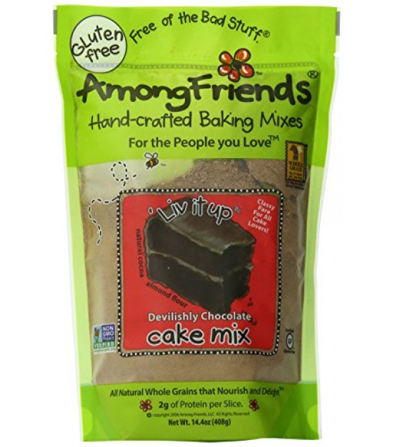 [Among Friends] Cake Mix `Liv It Up, Devilishly Chocolate