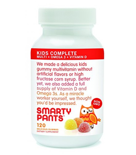 [Smarty Pants] Gummy Vitamins Kids Multivitamin/Omega 3/Vit D