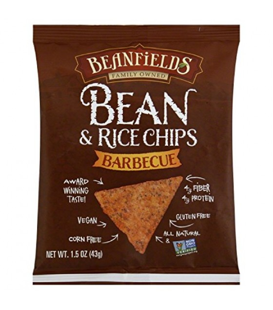 [Beanfields] Bean & Rice Chips Barbecue
